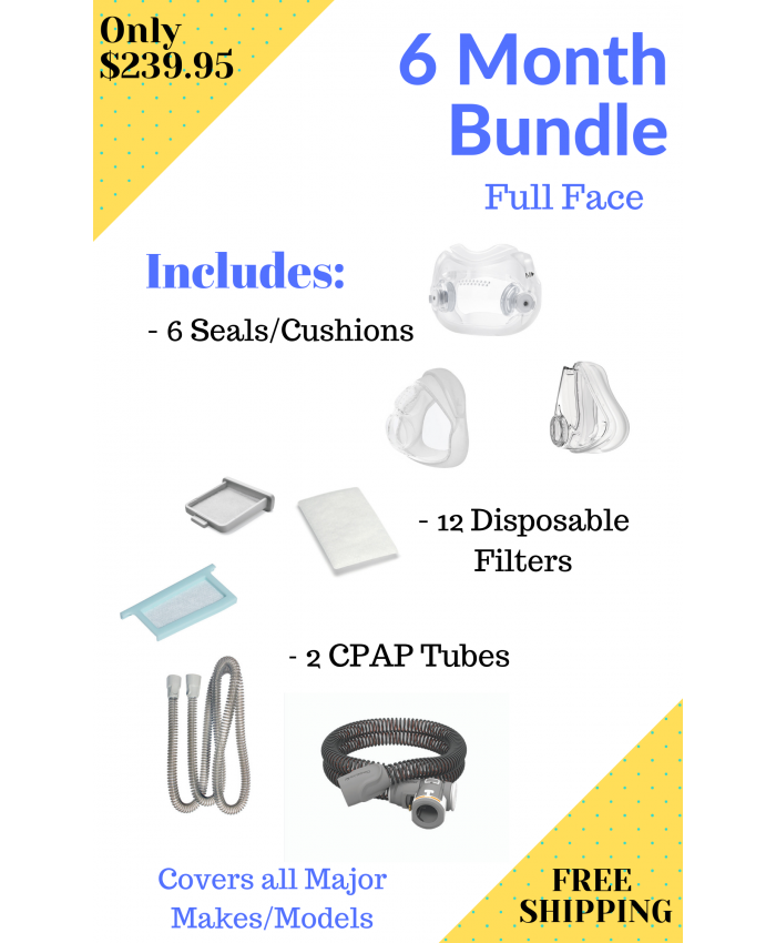 6 Month Full Face Bundle