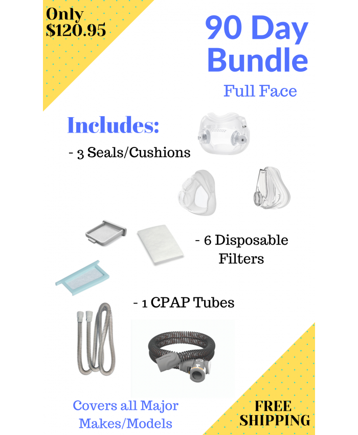 90 Day Full Face Bundle