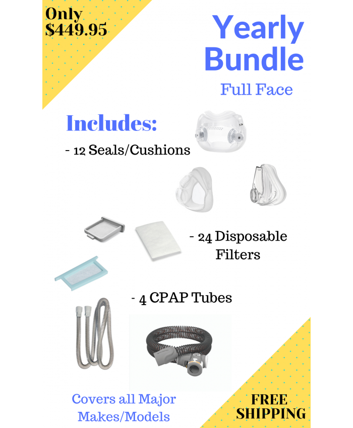 Yearly Full Face Bundle