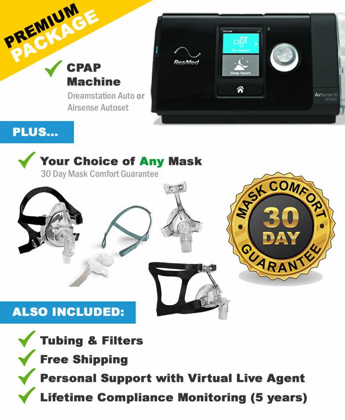 Premium CPAP Package