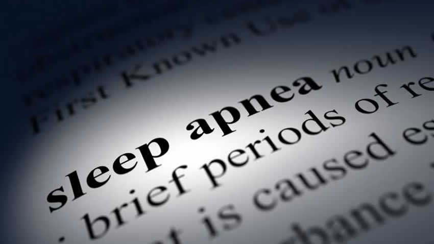 Definition of Sleep Apnea